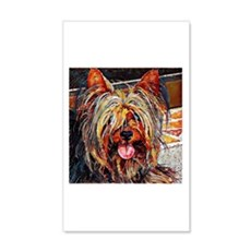 Yorkshire Terrier: A Portrait in Wall Decal