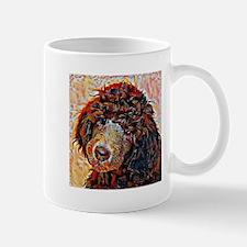 Standard Poodle: A Portrait in Oil Mug