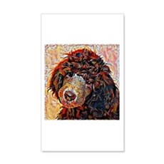 Standard Poodle: A Portrait in Oi Wall Decal