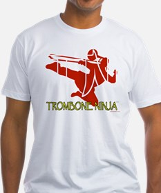 Trombone Ninja-Transparent T-Shirt