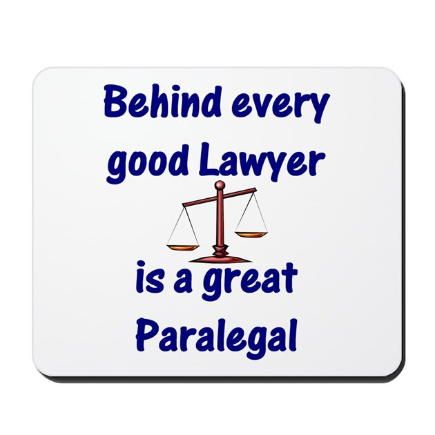 Paralegal Mousepad by topteedesigns