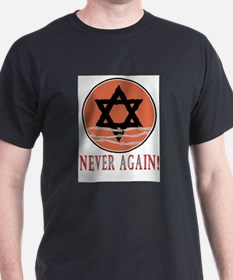 Never Again Ash Grey T-Shirt
