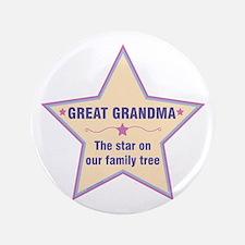 Great Grandma Star Button