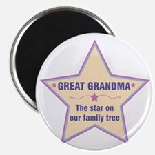 Great Grandma Star Magnets