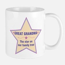 Great Grandma Star Mugs