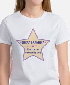 Great Grandma Star T-Shirt