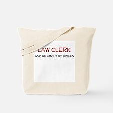 Law Clerk Tote Bag