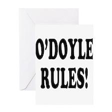 O'Doyle Rules! Greeting Card