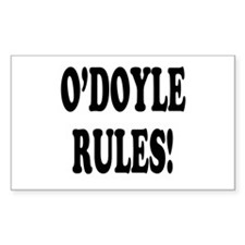 O'Doyle Rules! Rectangle Decal