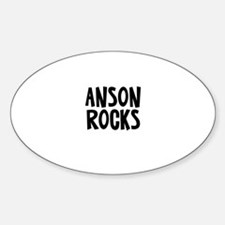 Anson Rocks Oval Decal