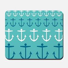 Anchor Pattern Mousepad