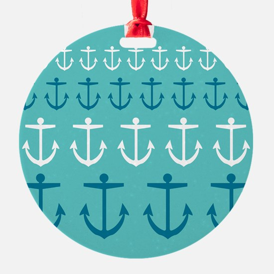 Anchor Pattern Ornament