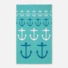 Anchor Pattern Area Rug