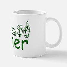 Heather-green Mug
