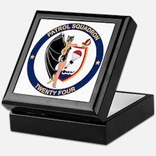 Patrol Squadron Twenty Four Keepsake Box