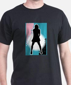 Grunge Girl Performer T-Shirt