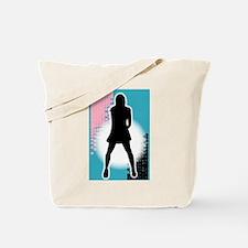 Grunge Girl Performer Tote Bag