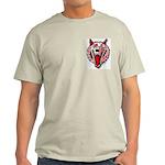 Wolf @ eShirtLabs.Com Ash Grey T-Shirt