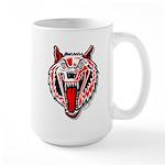 Wolf @ eShirtLabs.Com Large Mug