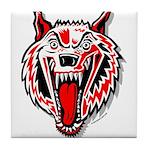Wolf @ eShirtLabs.Com Tile Coaster