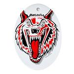 Wolf @ eShirtLabs.Com Keepsake (Oval)