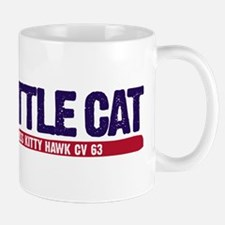 Battle Cat USS Kitty Hawk CV 63 Mug