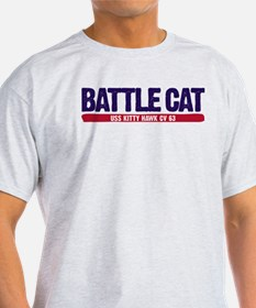 Battle Cat USS Kitty Hawk CV 63 T-Shirt