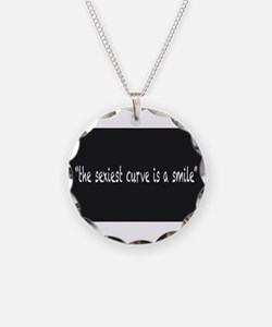 The Sexiest Curve Is A Smile Necklace