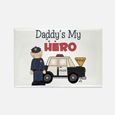 Daddy's My Hero Rectangle Magnet (10 pack)