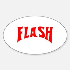 Flash Oval Decal