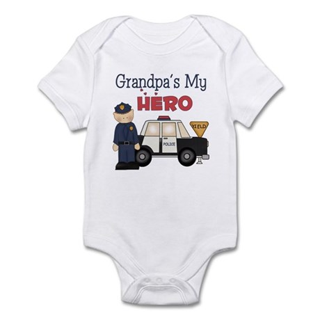 Grandpa's My Hero Infant Bodysuit