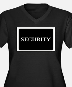 Security Plus Size T-Shirt