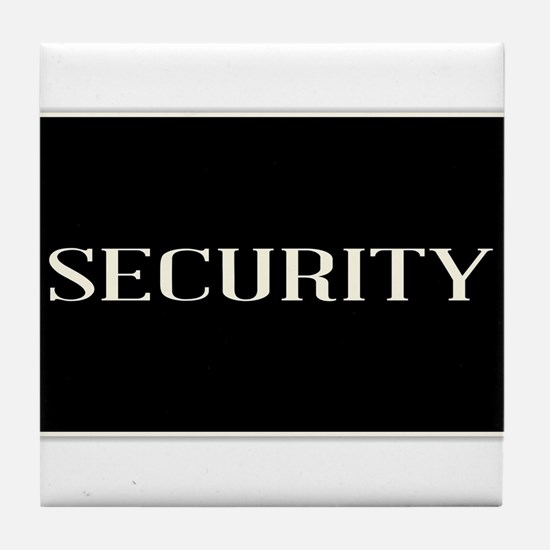 Security Tile Coaster
