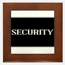 Security Framed Tile
