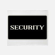 Security Throw Blanket