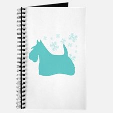 Scottie Snowflake Journal