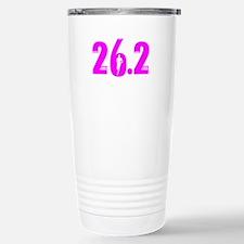26 2 marathon pink Stainless Steel Travel Mug