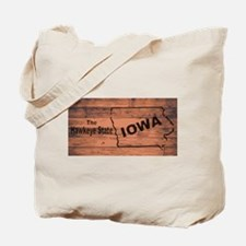 Iowa Map Brand Tote Bag