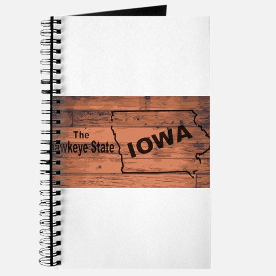 Iowa Map Brand Journal