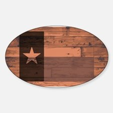 Texas State Flag Brand Decal