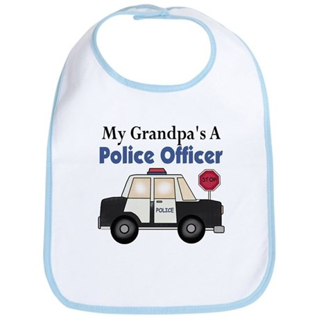 My Grandpa's A Police Officer Bib