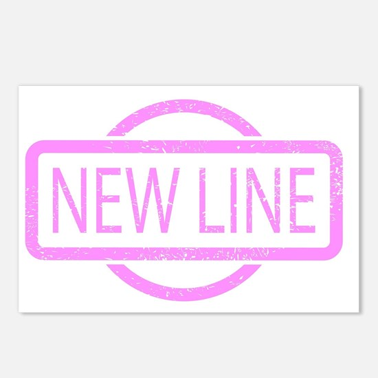 New Line Stamp Postcards (Package of 8)