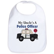 My Uncle's A Police Officer Bib