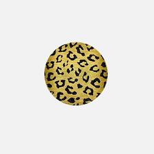 SKN5 BK MARBLE GOLD Mini Button