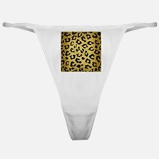 SKN5 BK MARBLE GOLD Classic Thong