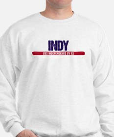 Indy USS Independence CV 62 Sweatshirt