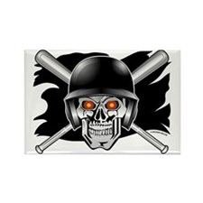 Pirate Baseball @ eShirtLabs. Rectangle Magnet