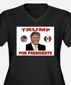 TRUMP PRESIDENTE Plus Size T-Shirt