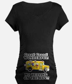 NO YELLING ON THE BUS T-Shirt