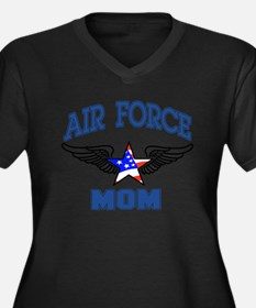 Air force Mom Plus Size T-Shirt